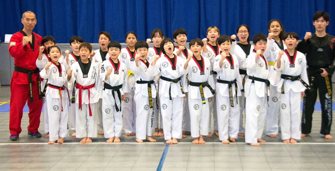 Taekwando Demonstration at Brehm Preparatory School