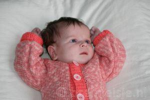 Babypakje breien gratis patroon