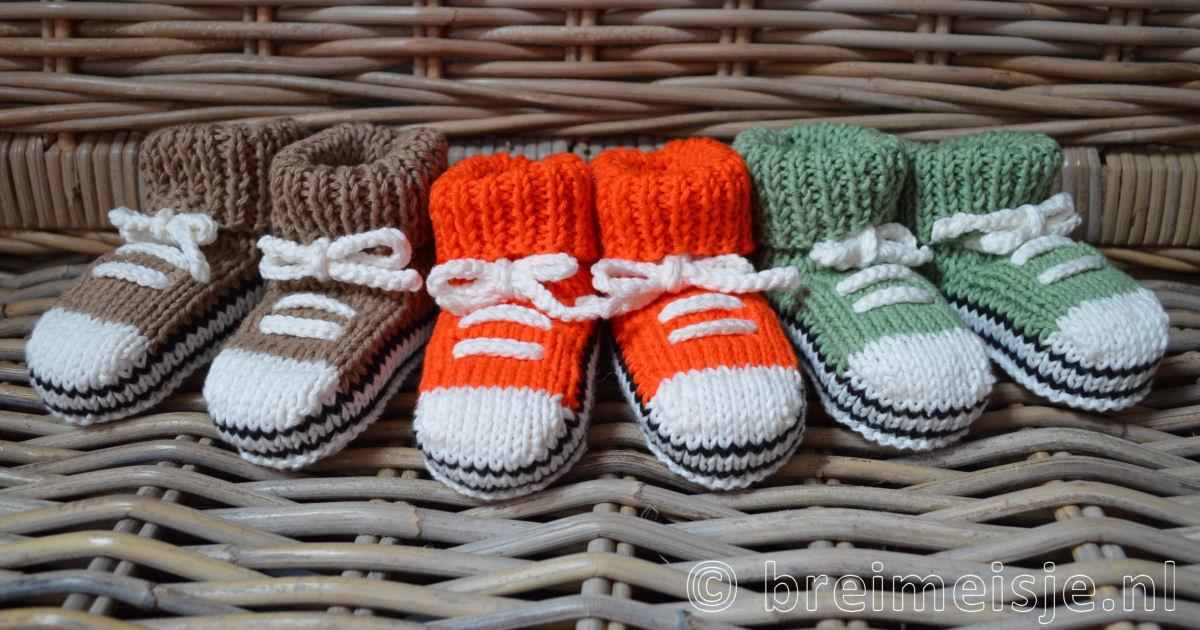 Baby Sportschoentjes Kopen Of Zelf Breien Breimeisjenl