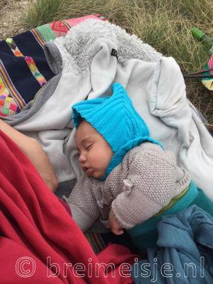 Elfenmuts - gratis patroon - baby - pixie hat