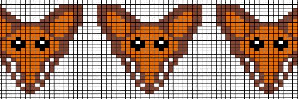 Breipatroon vos