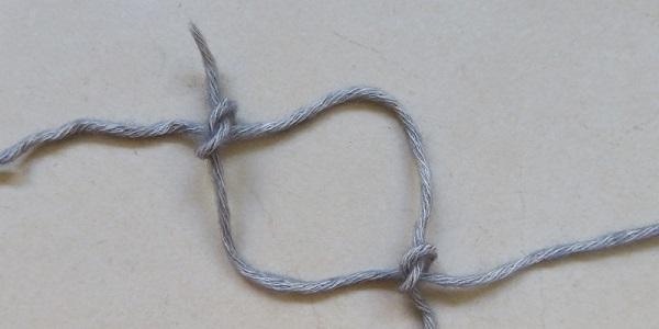 Haken breien aanhechten afhechten nieuwe draad