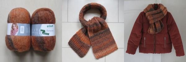 Sjaal breien beginners patroon