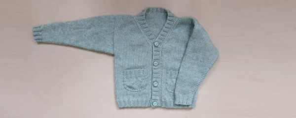 Babyvestje breien patroon maat 74-80