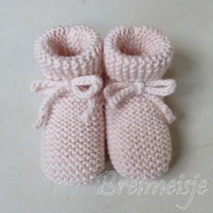 Babysokjes ribbels 2-6 maanden