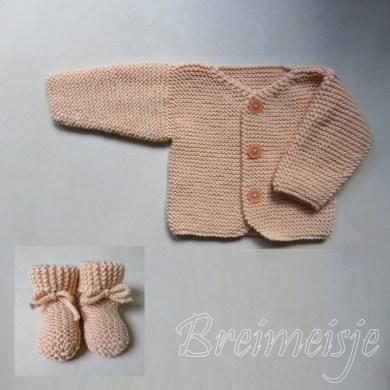 Baby Jacket garter baby 2 months