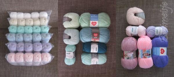 Welke wol voor het breien van babykleertjes?