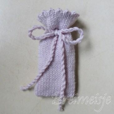 Lavendelzakje breien