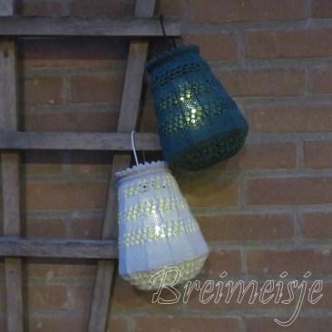 Lampje breien patroon