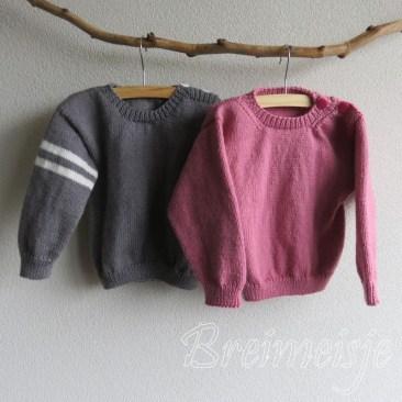 Patroon trui breien voor peuter