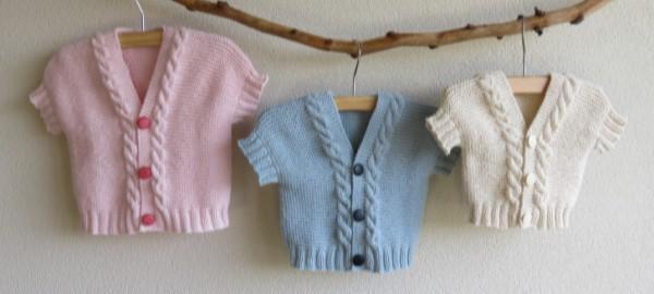 Babyvestje breien patroon