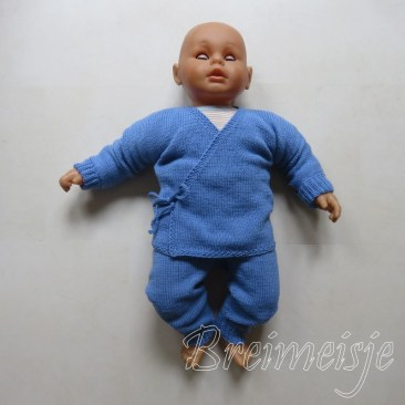 Babykleertjes breien baby 3 maanden
