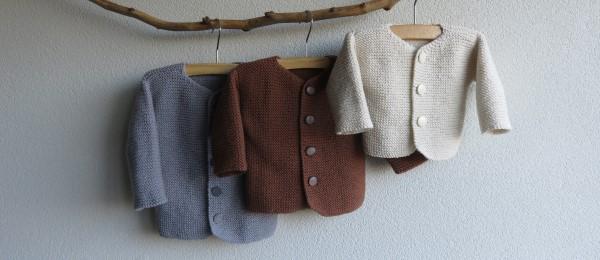 Babyjasje breien patroon