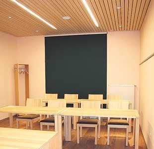 Inneanansicht Seminarraum Tanno
