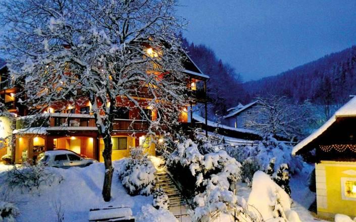 Seminarhotel Breineder im Winter