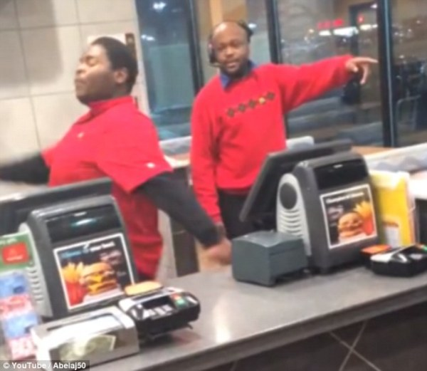 Furious McDonald's Employee Trashes Restaurant After Being ...