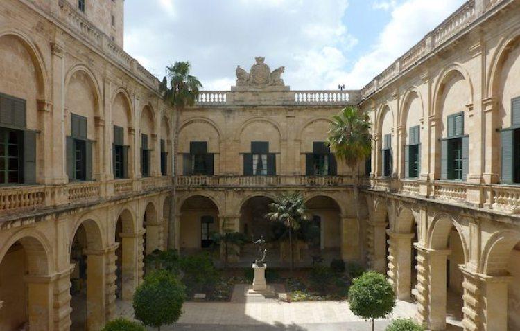 Innenhof Grand Master's Palace auf Malta
