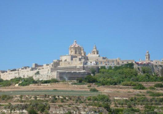 Mdina ist die alte Hauptstadt von Malta