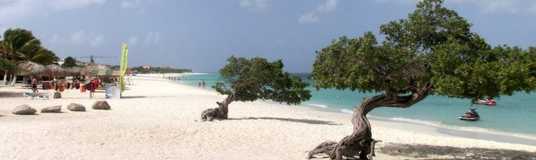 Strand auf Aruba