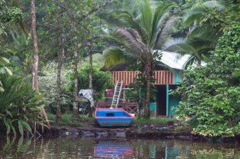 Costa Rica - Tortuguero Nationalpark - Bootsschuppen