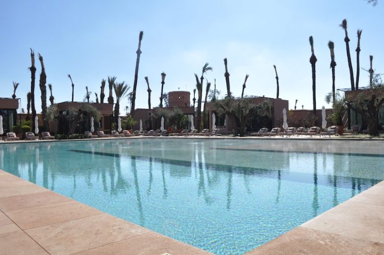 Die neu eröffnete Pool-Landschaft