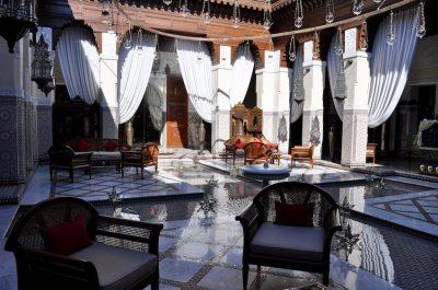 Die Lobby des Royal Mansour