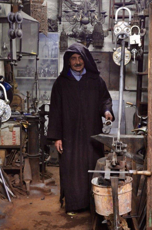 Traditionelle Handwerker in der Medina
