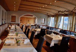 Blick ins Panoramarestaurant