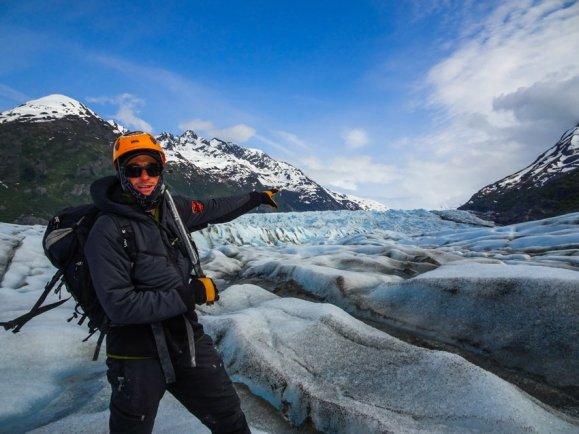 Gletscherwandern in Alaska 2017 - Brigitte Geiselhart-13