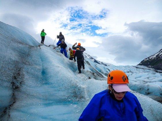 Gletscherwandern in Alaska 2017 - Brigitte Geiselhart-17