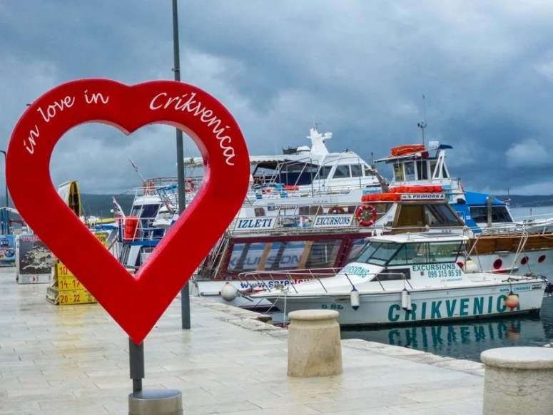 Opatija 14a Mit dem Speedboot nach Crikvenica- Liane Ehlers-Opatija-Kroatien