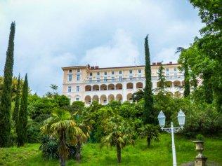 Opatija 16 in Crikvenica Hotel Kvarner Palace - Liane Ehlers-Opatija-Kroatien