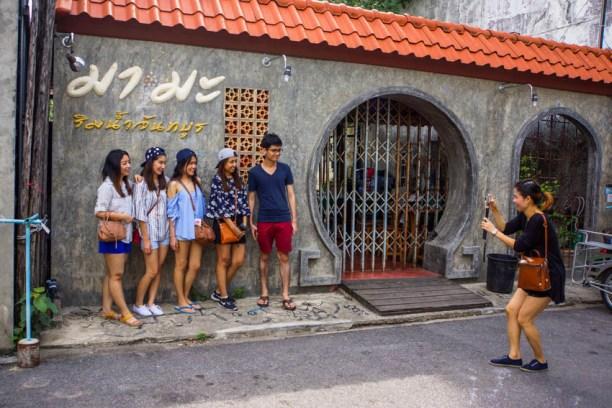 Urlaub in Thailand - Chinesische Touristen, Foto Martin Cyris