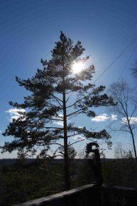 2018 Schweden Smaland Zipline breitengrad53 Liite Rock Lake Terrasse