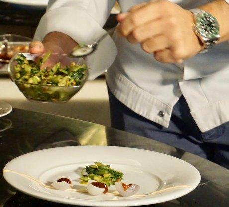 MSC-Meraviglia-Kulinarik-Ramon-Freixa-Reisereportage-Alexa-Schroeder-Breitengrad53-reixa Gericht 2