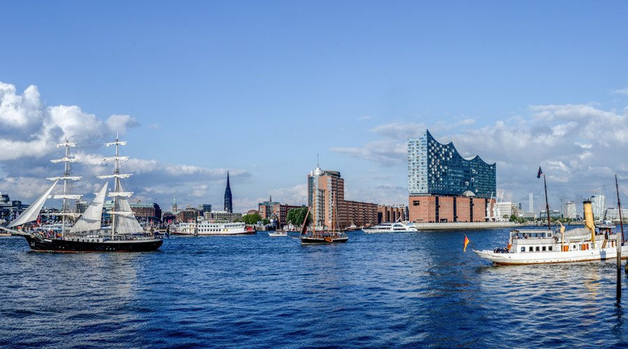 Urlaub im April - Hamburg