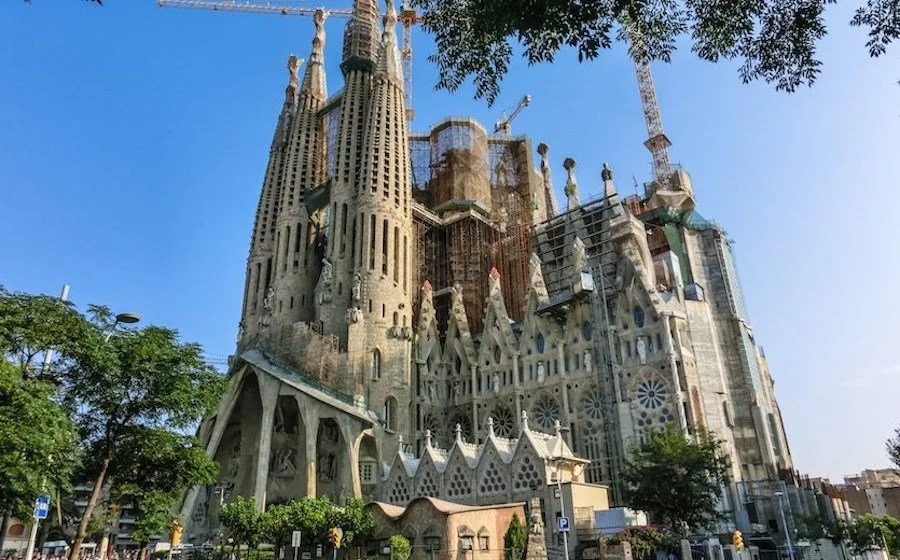 Urlaub im Maerz - Barcelona