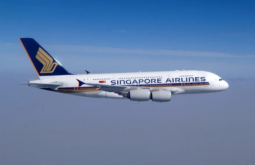 Singapore Airlines Finn Ehrig a380