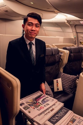 Singapore Airlines Finn Ehrig