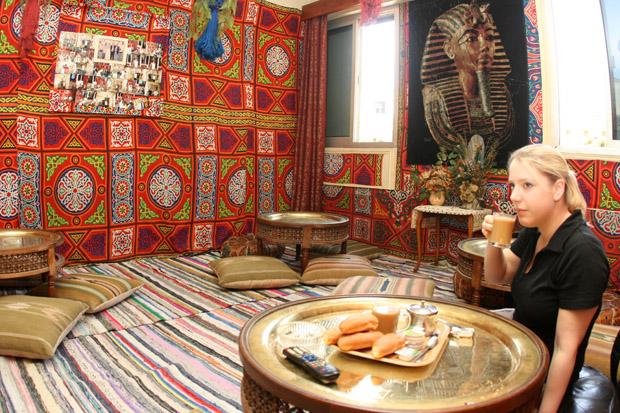 Speisesaal im King Tut Hostel Kairo
