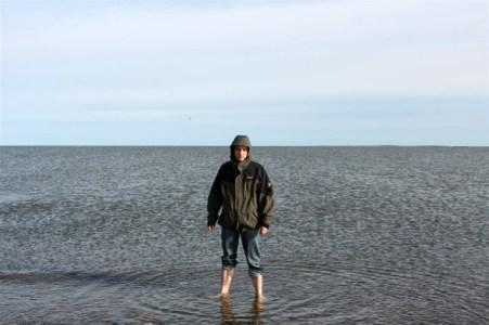 Das Polarmeer sieht wärmer aus, hat aber an diesem Tag nur rund 4 Grad