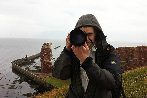Auf Helgoland bieten sich viele Fotomotive