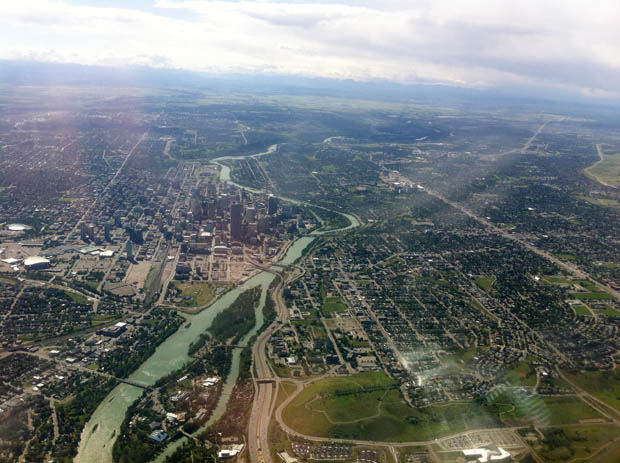 ... und Calgary...