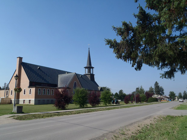 Die Kirche in Fort Smith