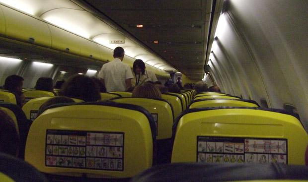 2009 flog ich erneut mit Ryanair nach London.
