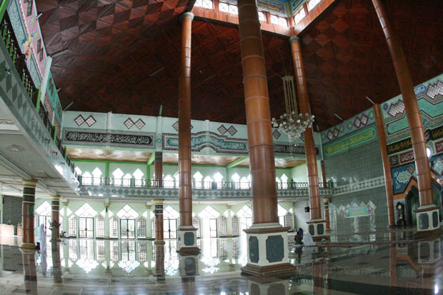 In Moscheen gibt es für mich leider nie viele Fotomotive.