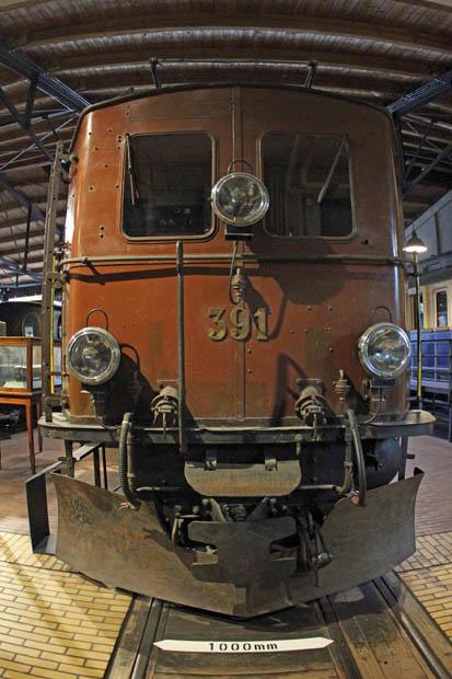 Ab 1912 lief diese Schmalspur-Lok bei der Rhätischen Bahn