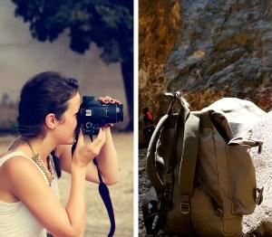 Maria Anna und ihr Rucksack