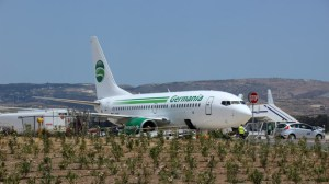 Der Flughafen in Paphos ist ruhig und beschaulich