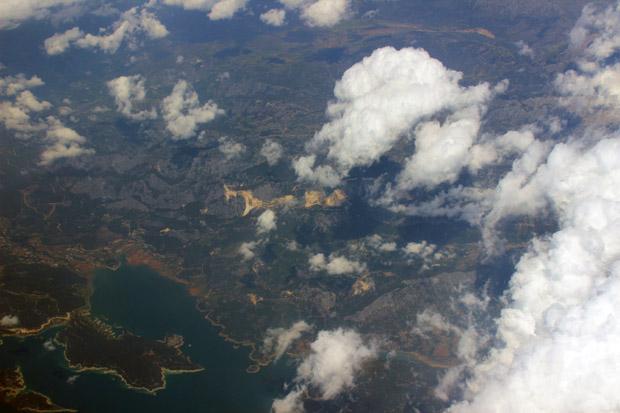 Seenlandschaft im Westen der Türkei